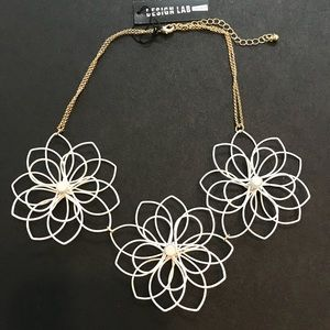 Flower Necklace Lord & Taylor Summer Jewelry
